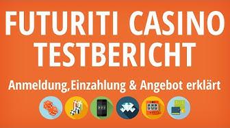 Futuriti Casino Testbericht: Anmeldung & Einzahlung erklärt [4K]