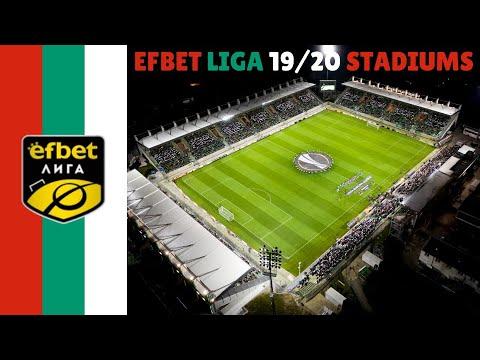 🇧🇬🇧🇬Bulgaria Parva liga Stadiums 2019/20 🇧🇬🇧🇬