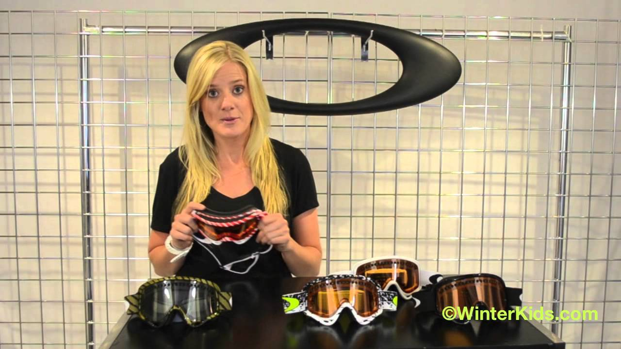 oakley o frame snow goggles  2012-2013 Oakley Youth XS O-Frame Goggle - YouTube