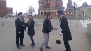 Драка: Ленин и Пушкин делят Красную Площадь