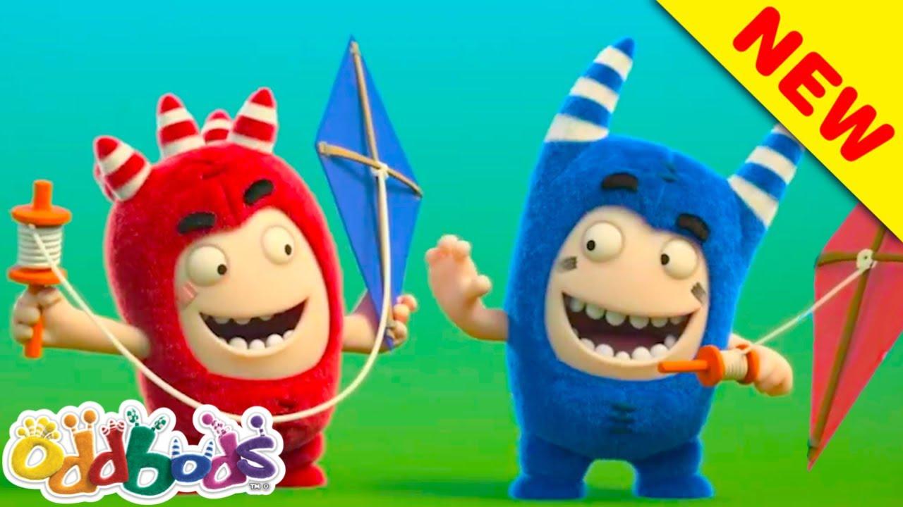 Los Oddbods Disfrutan la Brisa Fría del Otoño | Oddbods | Dibujos Animados Divertidos para Niños