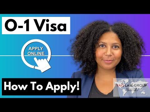 How to Apply for an O-1 Visa (Extraordinary Ability Visa)