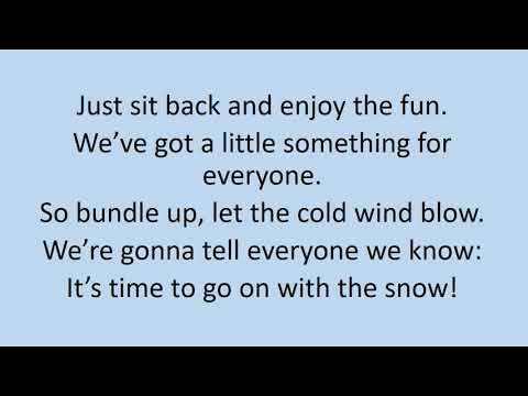 It's Snowtime! Lyric Video