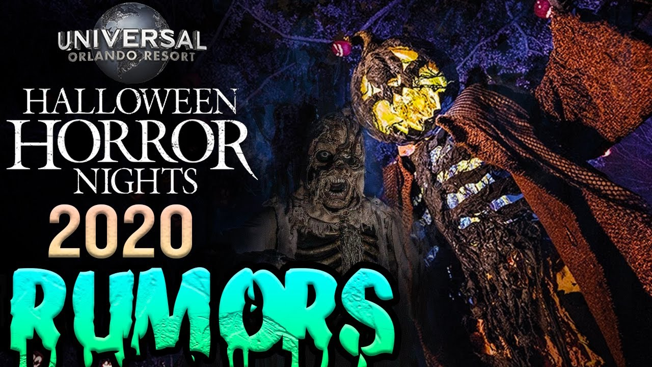 Universal Halloween 2020 Universal Studios Halloween Horror Nights 2020 House Rumors | HHN