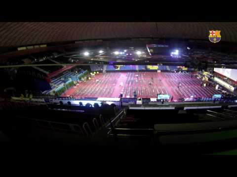 The Palau Blaugrana: From The Euroleague To The Assembly In 7 Hours