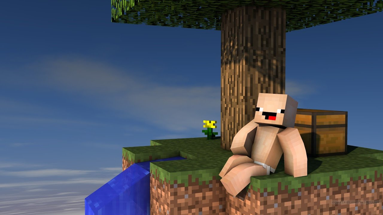 KEKO İLE TEK BLOKTA GARAJ YAPTIK  ! 😱 - Minecraft