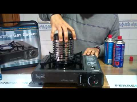 Cocinas Portatiles A Gas Bright Spark Youtube