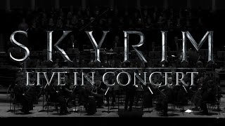 Repeat youtube video Skyrim Main Theme Dragonborn - LIVE IN CONCERT (OST) HQ