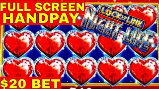 High Limit LOCK IT LINK Slot Machine Full Screen JACKPOT HANDPAY 🔴PREMIERE #2 | Casino | Live Slot