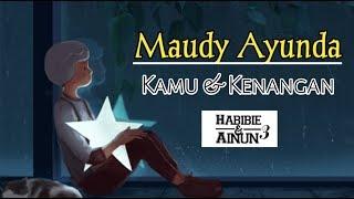 Maudy Ayunda KamuKenangan lirik animasi