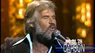 Kenny Rogers.  The Gambler (On Johnny Carson Show)