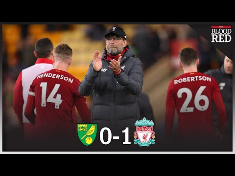 25 POINTS CLEAR | Liverpool Players And Jurgen Klopp CELEBRATE Win At Norwich City