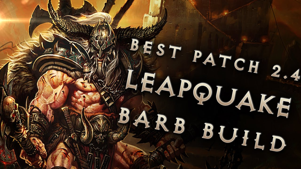 Diablo  Reaper Of Souls Barbarian Build
