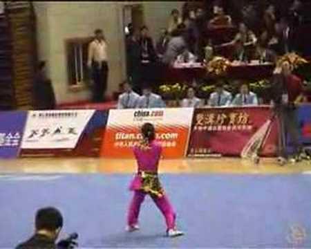 The Beautiful Zhang Ya Qi of Guangdong (2005 China Games)