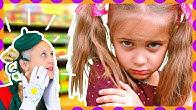 Spadli z jahody - Rozprávka Ako Jula a Chmuľo našli stratené dievčatko