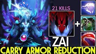 ZAI [Vengeful Spirit] New Crazy Killer Armor Reduction Build 7.23 Dota 2
