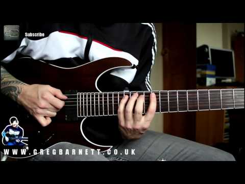 Shred Guitar Lesson #2 | Fast Pentatonic Alternate Picking | Greg Barnett