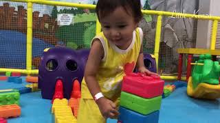 Kenzo Learn Colors in Playground | Belajar Warna Warni di Playground Lego Little Jungle