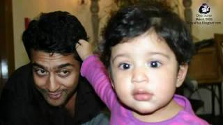 6 th sence Surya New Family Photos - Jothika, Diya and Surya.flv - .flv nasar