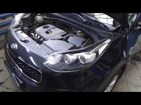 Киа Спортейдж 4 полный привод. Профилактика 4WD