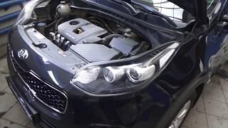 Кіа Спортейдж 4 повний привід. Профілактика 4WD
