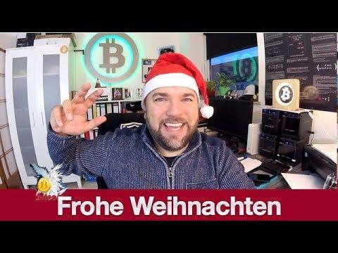 #517 Frohe Weihnachten 2018 wünscht der Bitcoin Informant