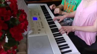 Leonard Cohen Hallelujah Duet Piano Cover by Toms Mucenieks
