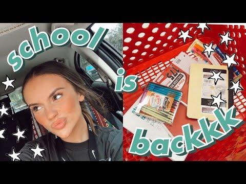 School Supplies Shopping + Haul 2019 || As A Senior In High School!!!!