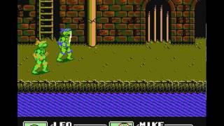 Жирный Задрот играет в TMNT 3 NES Dendy
