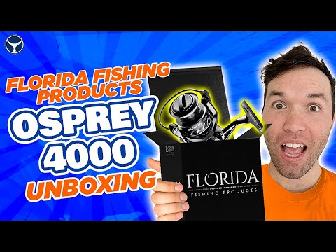 UNBOXING The Florida Fishing Products Osprey 4000