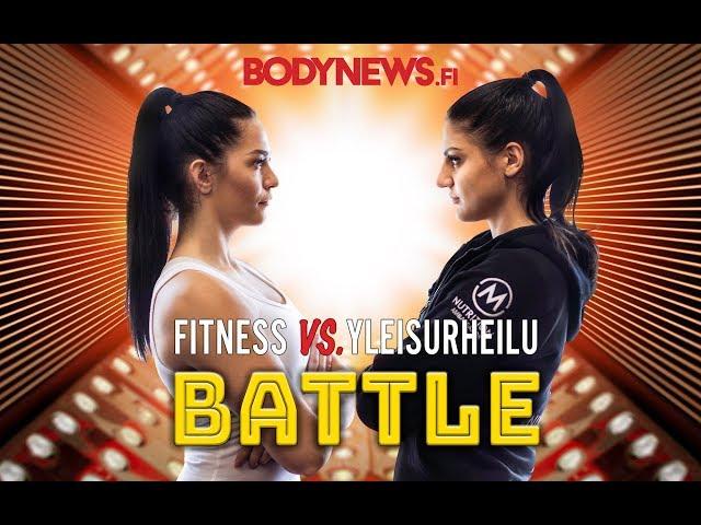 Fitness vs. Yleisurheilu BATTLE