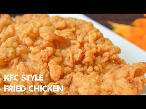 KFC Fried Chicken Recipe | Homemade Crispy Fried Chicken | Zinger Burger | Cook With Us