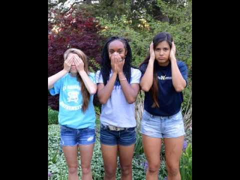 Ashley, Karla and Yanni Senior year 2015