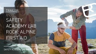 Alpine First Aid Procedures for accidents on the mountain