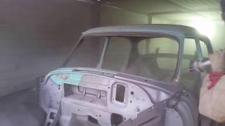 Пескоструй кузова 21 Волги(, 2016-11-01T19:47:35.000Z)