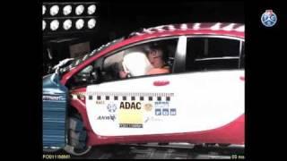 Crashtest Mitsubishi i-MiEV