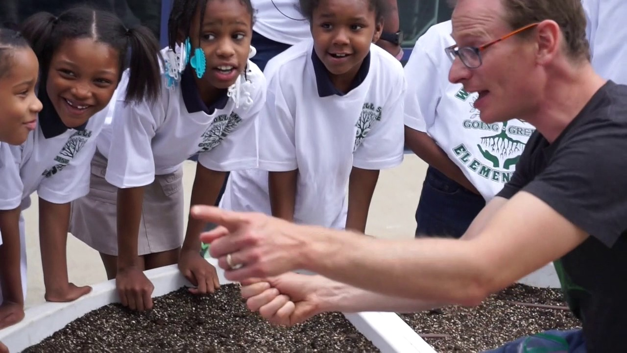 The Kitchen Community Garden Seed Planting Wendell Smith School Chicago May 30 2017