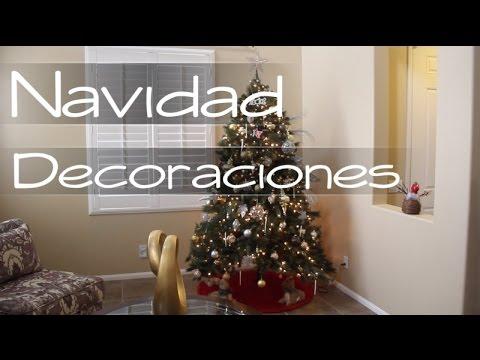 Navidad en mi casa decoraciones youtube - Decoraciones de navidad ...