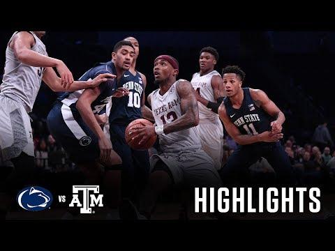 Men's Basketball: Highlights | A&M 98, Penn State 87