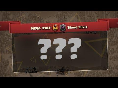 🔴WAR RECUP : Mega Italy VS Blood Elixir !! Clash of clans