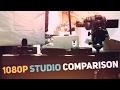 Logitech BRIO 4k vs. C922 vs. C920 1080p Quality Comparison in STUDIO lighting! 1080p KING?!