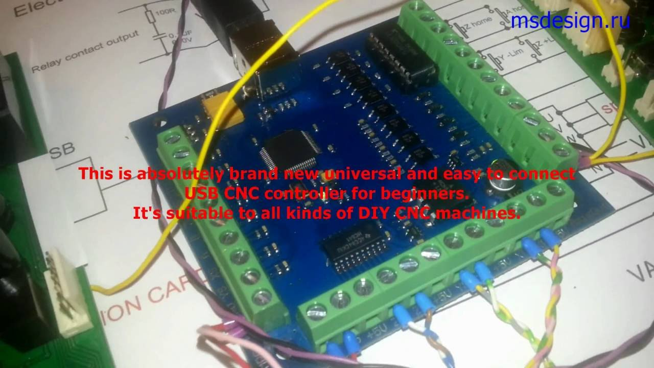 diy cnc the best usb controller for beginners ever english version CNC Driver Diagram diy cnc the best usb controller for beginners ever english version youtube