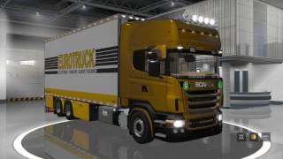 ETS2 Euro Truck Simulator 2 Scania R2008 tandem trailer