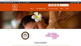 Buy Massage Course From Website Video Tutorial