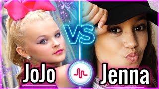 Its JoJo Siwa VS Jenna Ortega Musical.ly | Musers Battle Musically 2017