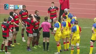 ROMANIA vs GERMANY   (RUGBY EUROPE CHAMPIONSHIP 2018) HD