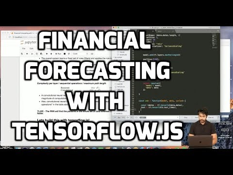 Financial Forecasting using Tensorflow.js (LIVE)
