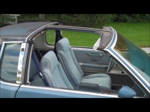 G Body Cutlass Interior