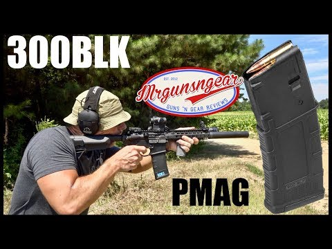 Magpul 300 Blackout PMAG 30 AR 300 B GEN M3 Review: Better Than 5.56 Magazines?