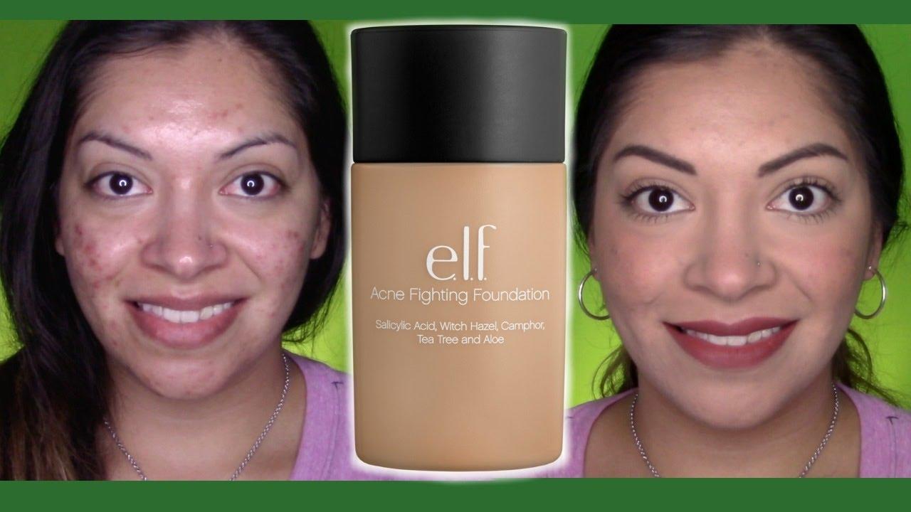 elf acne fighting foundation buff